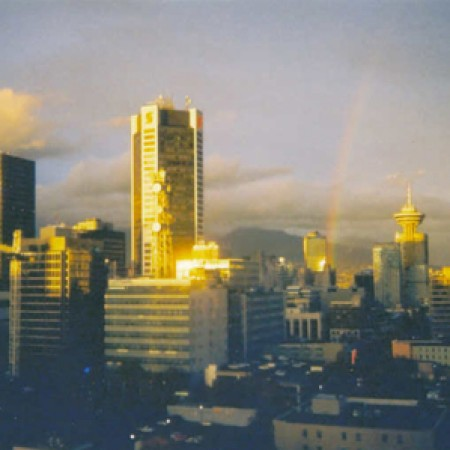 Vancouver (Check out that rainbow)