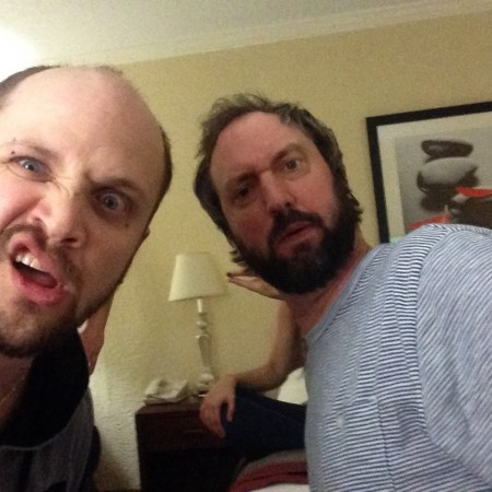 Unleashing the fury with Tom Green after the show - Jacksonville, Fl. May 2015