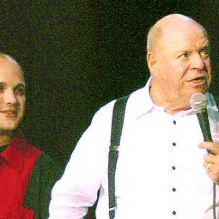 On stage with legendary Don Rickles