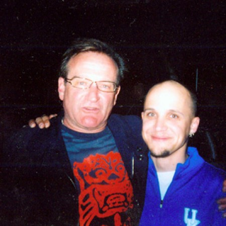 Me and Robin Williams - June 2005 (Vancouver Canada)