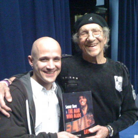 With Sammy Shore - Laughlin, Nv. 2009 (Coolest dude in the biz)